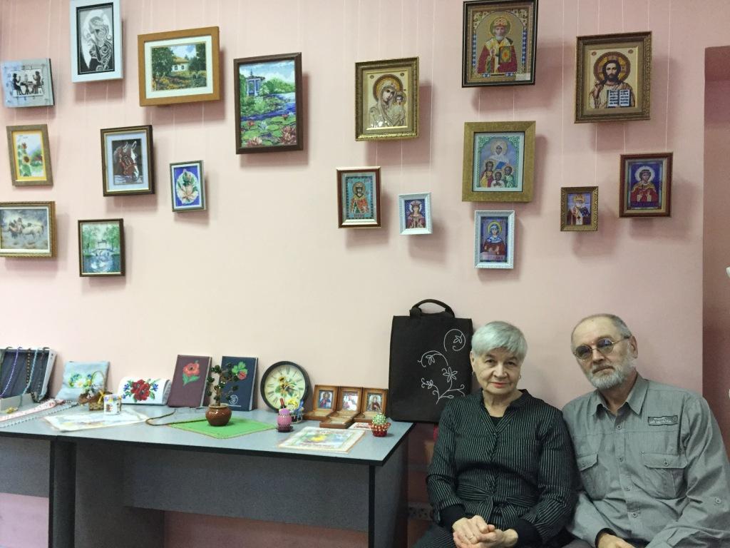 Майстер-клас із вишивки бісером та презентація творчої виставки «Краса  духовної єдності» 0a9680a1f8352